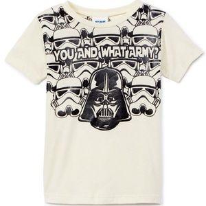 Star Wars Darth Vader What Army Shirt & Cape NWT